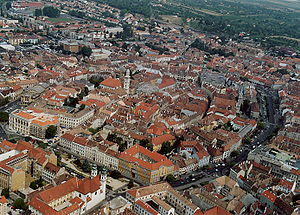 Alpokalja - The city of Sopron is located in the range