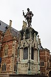 South African War memorial, Quadrangle of Clifton College, Bristol.jpg