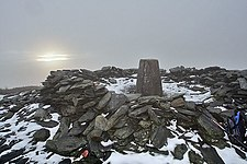 South Barrule Summit and Trig pillar - geograph.org.uk - 1636621.jpg