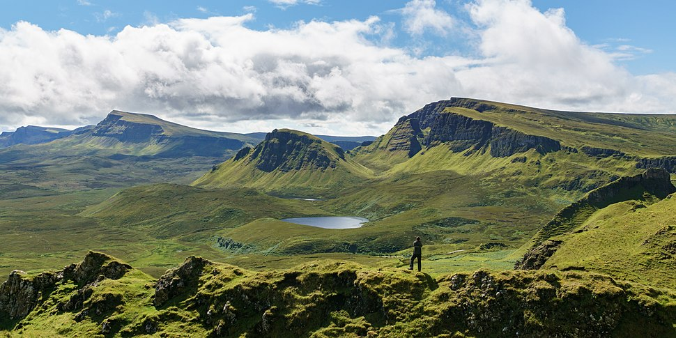 South over the Quiraing, Isle of Skye - 2