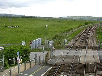 Southease railway station - Image: Southease Station surroundings (north)
