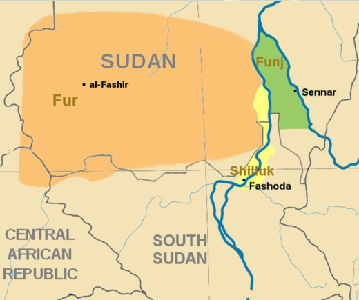 Southern Sudan in c. 1800 Southern Sudan - 1800.png