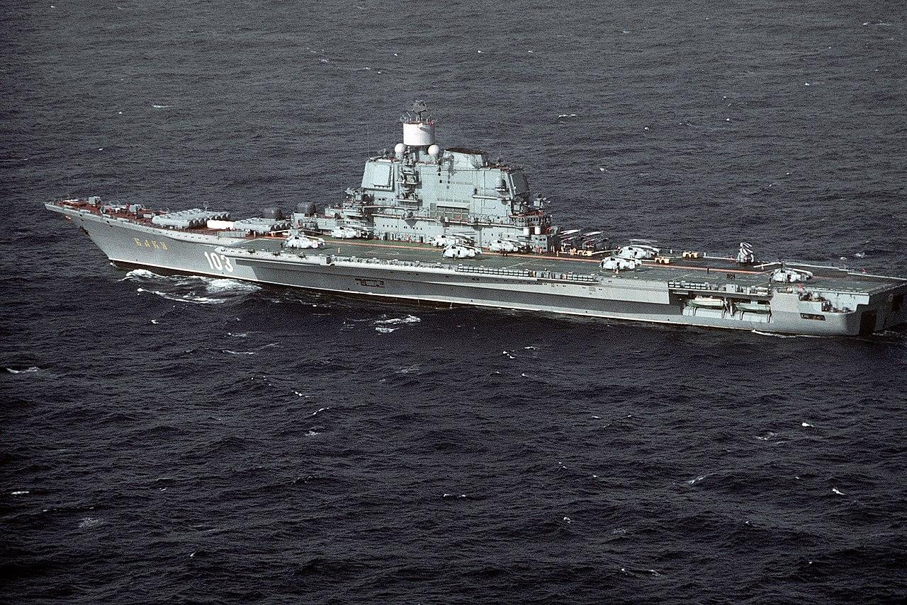 Soviet Kiev class VSTOL aircraft carrier BAKU.JPEG