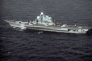 Soviet Kiev class VSTOL aircraft carrier BAKU.JPEG