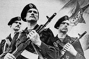 Naval Infantry (Russia) - Soviet Naval Infantrymen in 1985.