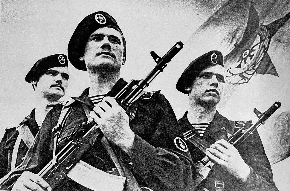 Soviet naval infantrymen DN-SN-86-00829