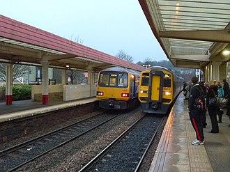 Sowerby Bridge railway station - Image: Sowerby Bridge Railway Station