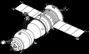 Soyuz-T spacecraft.