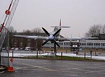 Spitfire at RAF Uxbridge - geograph.org.uk - 335504.jpg