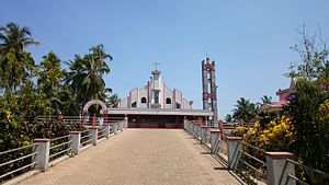 Naravi - St.Antony's Church, Naravi