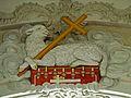 St. Josef, Kollnau - Lamm Gottes am Triumphbogen.jpg