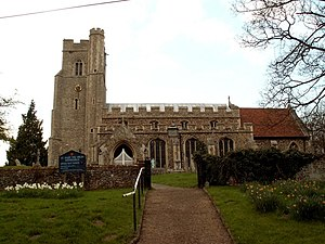 Withersfield - Image: St. Mary's church, Withersfield, Suffolk geograph.org.uk 161326