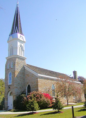 Dakota County, Minnesota - Saint Peter's Church in Mendota is the state's oldest church