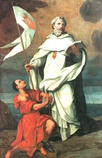 Peter Nolasco - St. Peter Nolasco as found in the Generalate of the Mercedarian Order