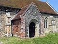 St Andrew's, Church, Frenze, Norfolk - Porch - geograph.org.uk - 814480.jpg
