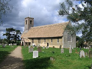 Æthelberht II of East Anglia - The church to Saint Ethelbert in Thurton