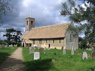 Æthelberht II of East Anglia - The church to Saint Ethelbert in Thurton