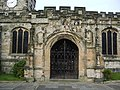 St Leonard's Parish Church, Middleton, Porch - geograph.org.uk - 699597.jpg