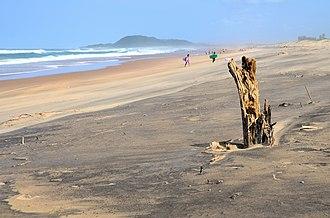 St Lucia, KwaZulu-Natal - Main beach at St Lucia