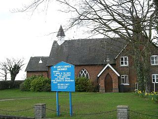 St Lukes Church, Oakhanger Church in Cheshire, England