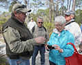 St Marks NWR photo Club President Thomas Darragh Answering Point And Shoot Camera Questions During Photo Tour On St Vincent Refuge By Carole Robertson.jpg