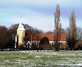 North Shoebury Village in Essex, England, UK