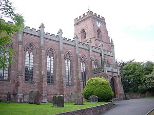 Lye, West Midlands - Parish Church of St Mary, Oldswinford