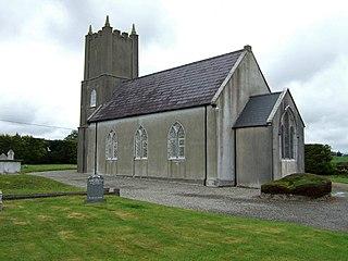 Newcestown Village in Munster, Ireland