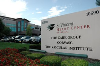 Healthcare real estate - The St. Vincent Heart Center of Indiana