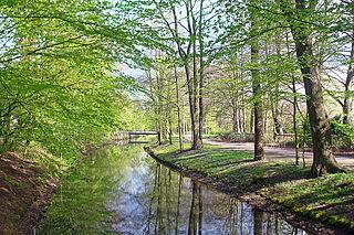 Dalke River in Germany