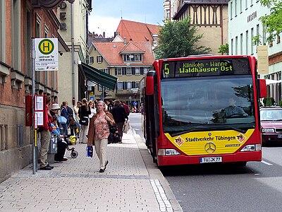 Stadtverkehr Tuebingen at Wilhelmstrasse.jpg