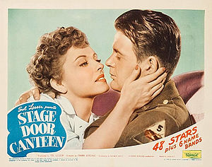 Stage Door Canteen (film) - Image: Stage Door Canteen LC 1a