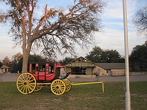 Salado, Texas - The Stagecoach Inn in Salado is the oldest continuously operating hotel in Texas.