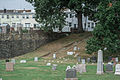 Stairs from Ranges A-B-C to section T - Glenwood Cemetery - 2014-09-19.jpg
