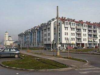 Dobrinja - Image: Stambeni blok u Dobrinji