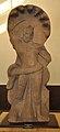 Standing Naga Deity Installed by Senahasty and Bhanuka in the Time of 40 Year of Kushan Emperor Huvishka - Circa 2nd Century CE - Chargaon - ACCN 00-C-13 - Government Museum - Mathura 2013-02-23 5797.JPG