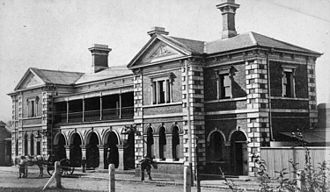 History of Toowoomba, Queensland - Toowoomba railway station opened in 1867