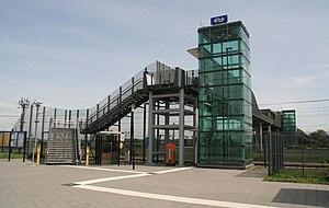 Lage Zwaluwe railway station - Image: Station Lage Zwaluwe toegang