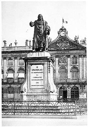 Georges Jacquot - Stanislas Ist, 1831, statue, bronze, Nancy