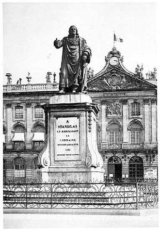 Georges Jacquot - Stanislas Ist, 1831, statue, bronze, Nancy