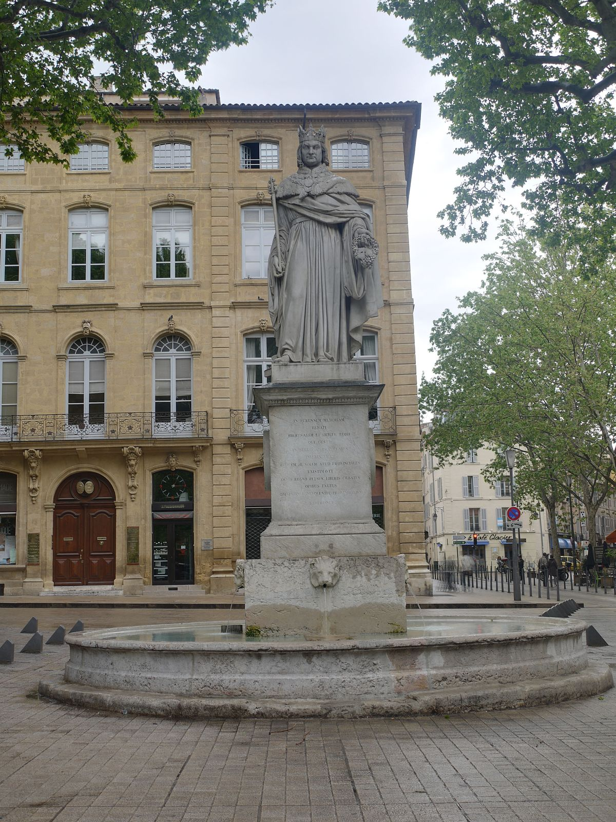 Fontaine du roi ren wikipedia for Hotels 2 etoiles aix en provence