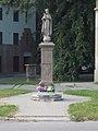 Statue of Blessed Virgin Mary by György Bauer, Templom Street, 2017 Szolnok.jpg