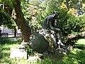 Statue of Walther von der Vogelweide in Duchcov.JPG