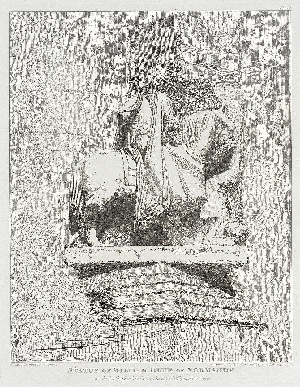 Statue of William, Duke of Normandy LACMA M.88.91.477