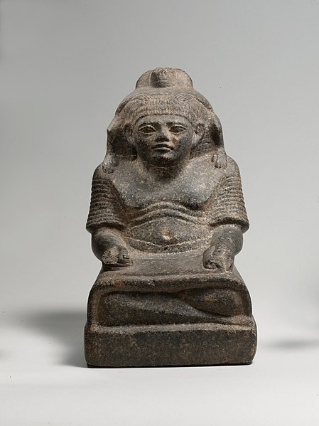 File:Statue of a scribe with a baboon MET DP234752.jpg