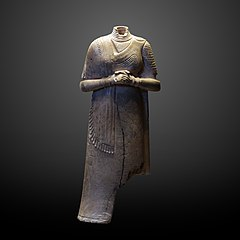 Statuette of a woman-Sb 2746