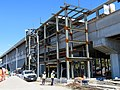 Steelwork at El Cerrito del Norte station, March 2019.JPG