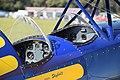 Steen Skybolt cockpit (G-ENGO) at Cotswold Airport England 29Sept2018 arp.jpg