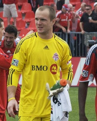 Stefan Frei - Frei with Toronto FC in 2010