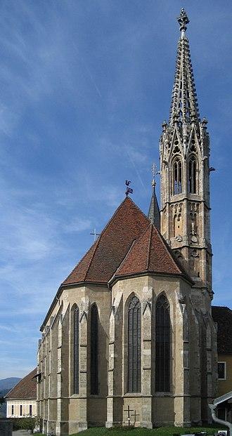 Gratwein-Straßengel - Wallfahrtskirche church Maria Straßengel.